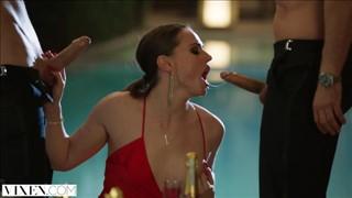Wieczorny seks z pijaną laską